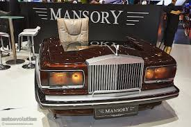 mansory bentley mansory presents tuning kit for bentley flying spur in geneva