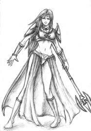 female elf warior by rhein salvation on deviantart