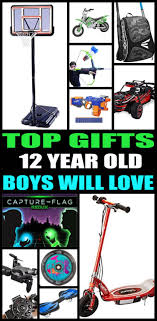 gifts for 12 year boys