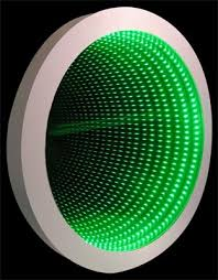 4 led lights mirror circle infinity mirror wall displays and infinity mirror tables