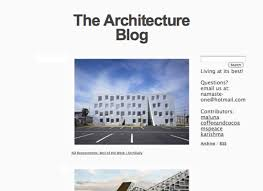 architecture blog architecture sources of inspiration noupe