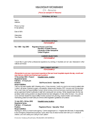 Job Resume Personal Statement by Examples Of Resumes Very Good Resume Social Work Personal