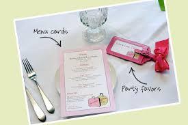 bridal luncheon favors bridal luncheon invitation llb designs