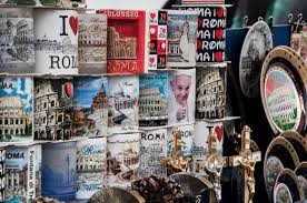 pope francis souvenirs pope francis souvenirs from rome editorial stock photo image of