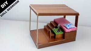 diy wooden dollhouse bedroom 14 easy u0026 quick craft ideas for