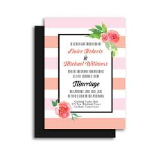 floral wedding invitations and floral wedding invitation