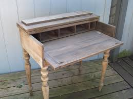 antique lift top writing desk before reuse repurpose upcycle