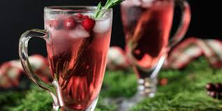 sparkling cranberry mocktail savor the flavour