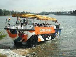 amphibious vehicle duck 3 day singapore city pass duck tour night tour marina bay tour