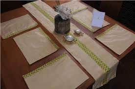 table runner placemat set homestrap towels bathroom linen home kitchen homestrap hand