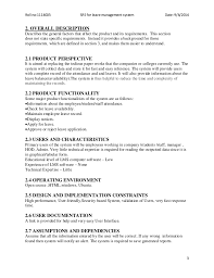 requirement document project requirements specfication template