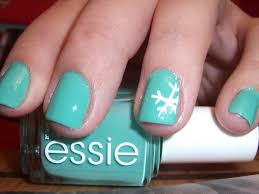 understated holiday nails snowflakes polish me please