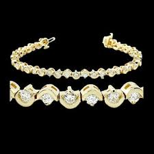 bracelet design diamond images Gold diamond bracelet jpg