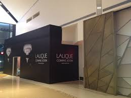 lalique las vegas showroom under construction cook