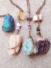 necklace stone diy images 59 stone pendants for necklaces multicolor gemstone eternity jpg