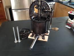 tooling up enterprise 25 antique iron sausage stuffer plus sous