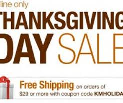 thanksgiving day sale launched