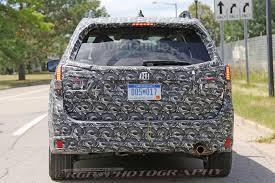 subaru minivan 2019 subaru forester spied testing on public roads autoguide com
