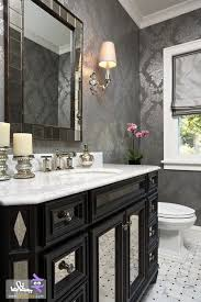 wallpapered bathrooms ideas 137 best wallpaper ideas for bathroom images on