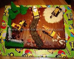construction birthday cake coolest construction birthday cakes