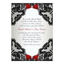 and black wedding invitations white and black lace wedding invitation zazzle