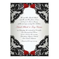 wedding invitations black and white white and black lace wedding invitation zazzle