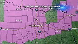 Texarkana Weather Radar Map Winter Weather Returns To Ntx Cbs Dallas Fort Worth