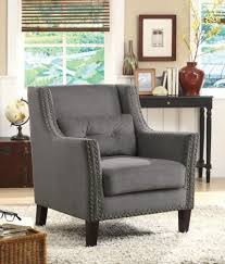 Curved Back Black Leather Accent Chair Passport Furnishings