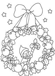 coloring pages wreaths kids coloring