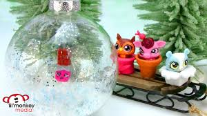 diy ornaments lps shopkins trash pack gross