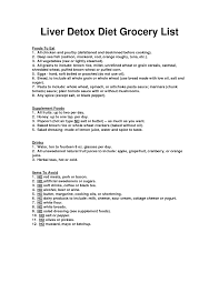 here u0027s my suggested liver detox diet grocery list detoxing