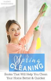 5 spring cleaning books that will help you clean your home better