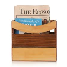 exclusivelane elegant magazine newspaper stand in sheesham