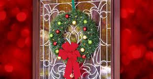 diy garland ornament wreath for 15 the dollar tree