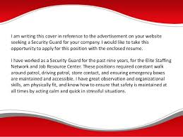Sample Resume Of Security Guard by Security Guard Cover Letters