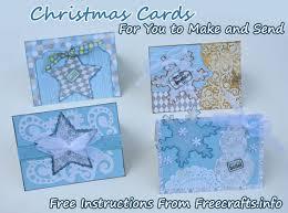 how to make christmas cards u2014 free instructions u2013 free craft ideas