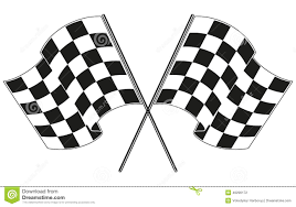 Checkered Racing Flags Race Car Clipart Checkered Flag Pencil And In Color Race Car