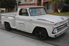 1965 chevy short bed step side c10 patina paint hotrod restomod