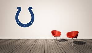 wall decals stickers home decor home furniture diy indianapolis colts nfl wall decal sport logo nfl vinyl home decor room