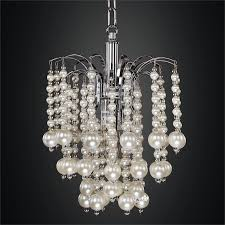 pearl chandelier mini beaded chandelier pearl like asti 644