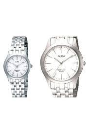 Jam Tangan Alba Pasangan harga alba jam tangan silver stainless steel