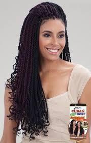 black cuban twist hair freetress equal synthetic hair braids double strand style cuban