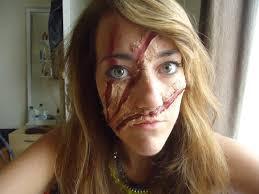 Werewolf Halloween Makeup by Beautyrobot October 2014