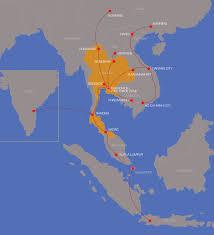Thailand World Map by Transportation Thaisomdej Logistics Thailand Custom