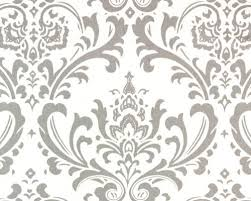Clearance Drapery Fabric Clearance Remnant Home Dec Fabric Traditions Damask Gray And