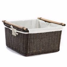 Wicker Laundry Basket With Lid Ikea Articles With Wicker Washing Basket With Lid Tag Wicker Laundry