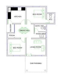 beautiful home with floor plan in 850 sq ft u2013 mera home