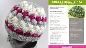 beanie hat knitting pattern with tutorial studio knit
