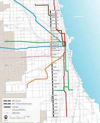Map Chicago From Curitiba To Chicago The New Rapid Transit Bus Corridor The