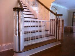 Child Safety Gates For Stairs With Banisters Safety Gates For Kids Homesfeed